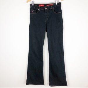 NYDJ Black Tummy Tuck Jeans Size 12